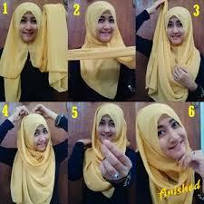 tutorial jilbab remaja yang simple cara lengkap berhijab yang cantik dan modern