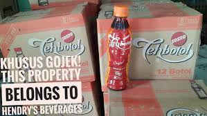 Teh Botol Sosro Kemasan Karton jual teh botol sosro 350ml hendry s beverage