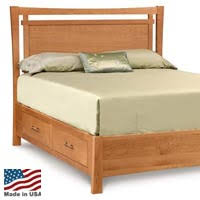 Oak Platform Bed Wood Platform Beds Made In The Usa Platformbeds Com