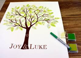 tree signing for wedding ido it myself diy wedding guest book sted tree collage