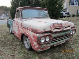 Classic Ford Truck Frames - 59 ford f100 ratt rod frame up build 302 v8 auto overdrive youtube