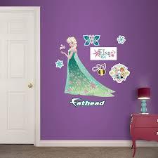Custom Fatheads Wall Stickers Disney Frozen Wall Decals Tktb