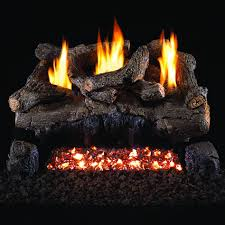 peterson real fyre 30 inch evening fyre gas log set with vent free