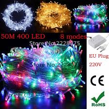 Decorative Lighting String 400 Led 50m String Light Christmas Wedding Party Decoration Lights