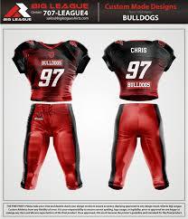 Custom Flag Football Jerseys Big League Shirts Custom Sports Jerseys Full Dye Sublimation