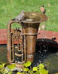 Recycled Garden Decor Fountain Jpg