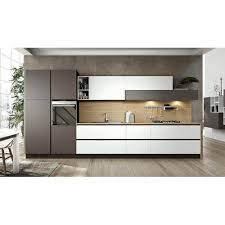 linear kitchen stainless steel modular linear kitchen at rs 1100000 unit