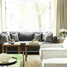 dark gray linen sofa design ideas