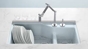 Blue Kitchen Sinks At Home Finding A Kitchen Sink Celebrate Decorate