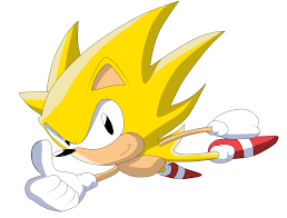 super sonic classic by krizeii on deviantart