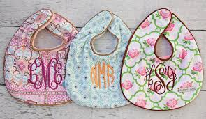 monogramed items monogrammed baby gifts baby and kids