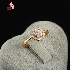 big flower rings images 2018 new kuniu brand fashion hot 18k real gold ring full with big jpg