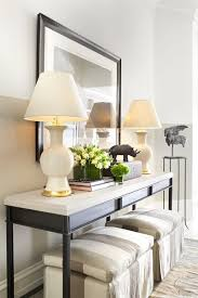 Decorating A Credenza No Fail Objects For Styling A Console Table Home Design