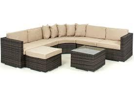 rattan corner sofa lisbon 6 7 seater rattan corner sofa set