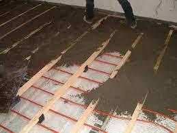 auri underfloor heating installation in 1000sads