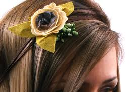 felt flower headband how to make a felt flower headband