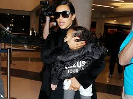 Daughter Nervous Kim Kardashian Is Nervous About North Meeting Her Brother Look