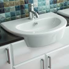 imex blade 550mm semi recessed basin blls1088 drench