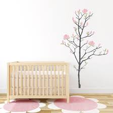 Flower Wall Decals For Nursery by Young Magnolia Tree Wall Decal