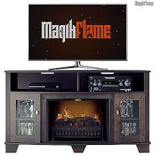 cherry wood tv stands cabinets poseidon midnight cherry wood media center electric fireplace