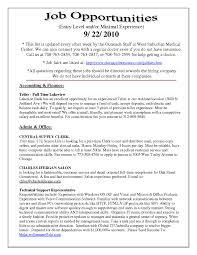 Resumes Examples Resume Good Example