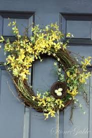 forsythia wreath forsythia wreath tutorial forsythia wreath wreaths and easy