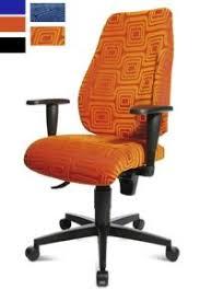 fauteuil de bureau orange fauteuil de bureau avec dossier inclinable fazano
