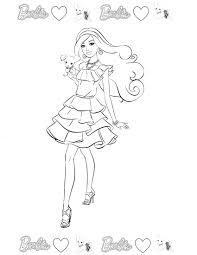 barbie 52 coloringcolor com