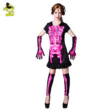skeleton costume womens women s pink skeleton costume hoodie ghost evil bone