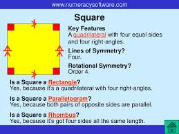 A Rectangle Is A Parallelogram With A Right Interior Angle 2 D Shapes