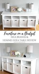 ikea branäs and hemnes sofa table furniture on a budget
