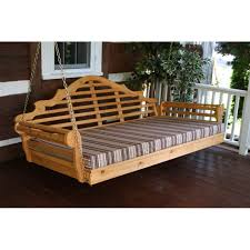 Swinging Bed Frame Cedar 75 Marlboro Swing Bed A L