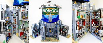 bioshock the collection featuring rapture recreated from legos