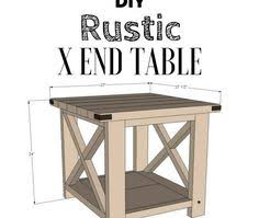 rustic x kitchen island diy project from ana white woodworking