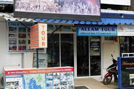 aleam tour agency bangtao phuket thailand