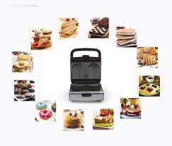 Toaster With Sandwich Maker Tefal Snack Collection Sw853d12
