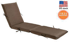 Patio Chaise Lounge Chair Chaise Lounge Cushions Ebay