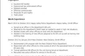 Police Officer Resume Example by Skills Entry Level Resume Police Officer Reentrycorps