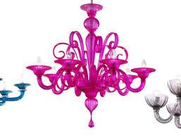 Colored Chandelier Chandelier Blown Glass Chandelier Top Blown Glass Bathroom