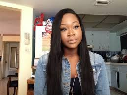 a side part with long hair and a swoop and a cross deep side part quick weave ms here virgin hair company youtube