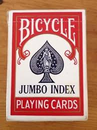vintage usa made bicycle jumbo index air cushion finish