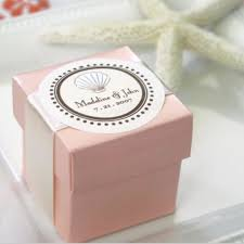 wedding favor boxes personal handmade pink paper wedding favour box with your wedding