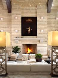 fireplace mantel decorating ideas for cozy everyday with tv above