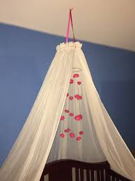 baby crib canopy cascading rose mobile twin bed canopy