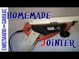 make a jointer with a hand planer youtube