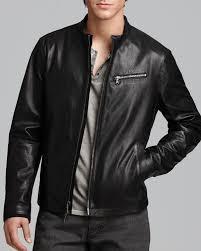 motocross leather jacket john varvatos usa leather moto jacket bloomingdale u0027s