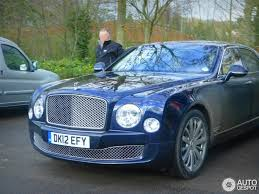 navy blue bentley bentley mulsanne review and photos