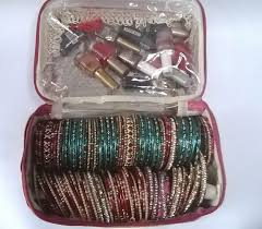 bridal makeup box bangle box make up kit bridal set wedding gift make up box