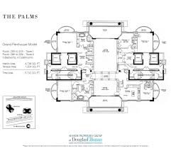 Luxury Penthouse Floor Plan by The Palms Floor Plans Luxury Oceanfront Condos In Fort Lauderdale