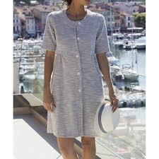 robe de chambre canat femme canat robe de chambre gaby2 grey